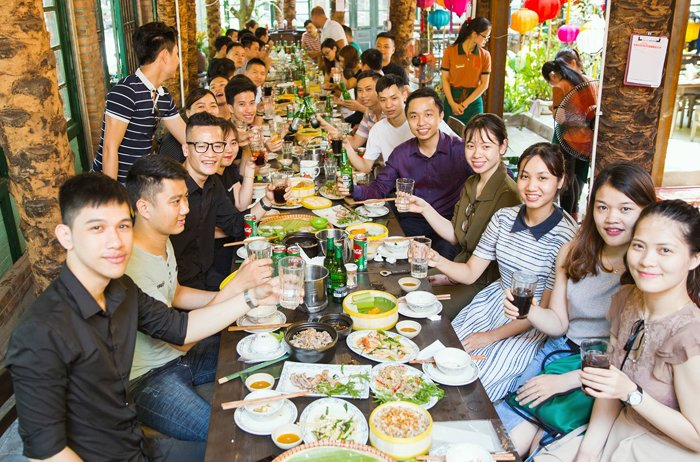 Tiêu chí lựa chọn quán ăn đẹp ở Hà Nội tổ chức sự kiện