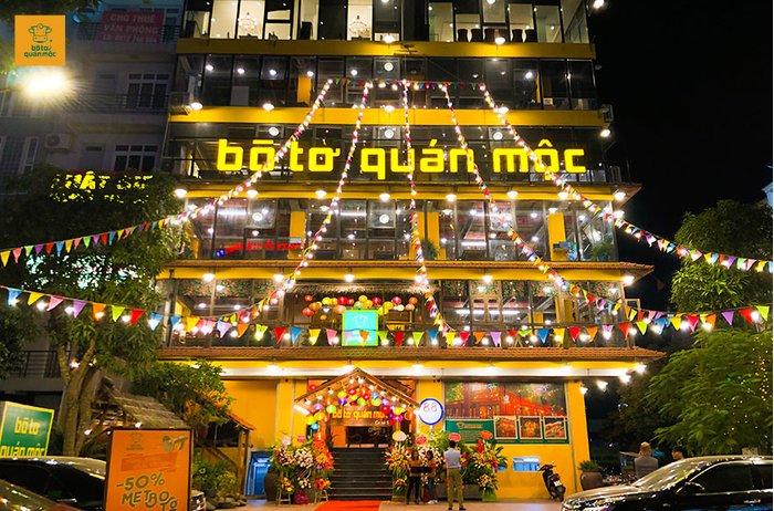 Bò Tơ Quán Mộc cơ sở 5 chính thức khai trương tại Hà Đông