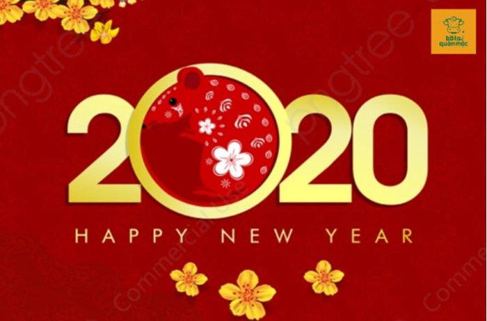 Bò Tơ Quán Mộc chúc mừng năm mới 2020