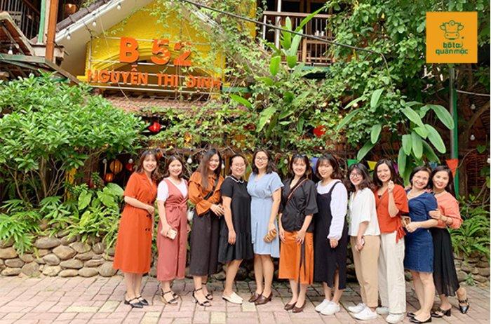 Bò Tơ Quán Mộc B52 Nguyễn Thị Định: Không gian xanh mát trốn nắng ngày hè