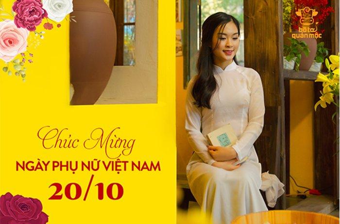 Bò Tơ Quán Mộc chúc mừng Ngày Phụ nữ Việt Nam 20/10