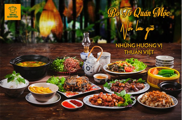 Bò Tơ Quán Mộc - Nơi lưu giữ những hương vị thuần Việt