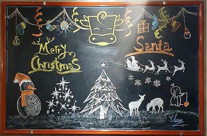Tưng bừng không khí Giáng sinh sớm tại Bò Tơ Quán Mộc