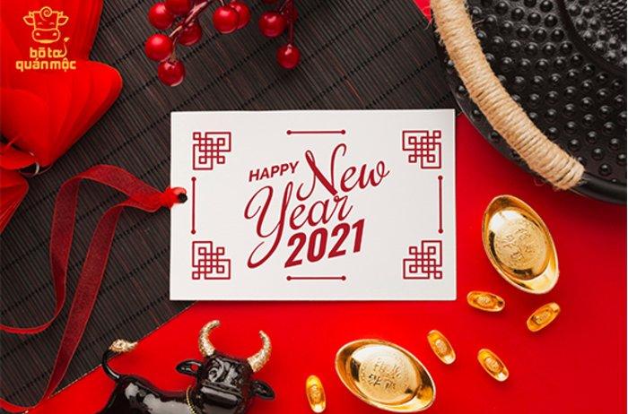 Chúc mừng năm Tân Sửu 2021: Lời yêu thương gửi tới khách hàng